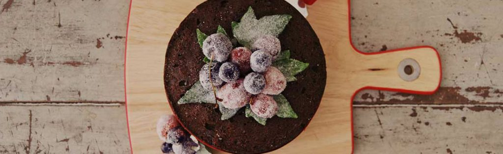 Gillian Bell's traditional fruit cake
