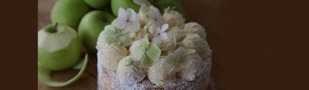 Gillian Bell's Apple Sponge Cake