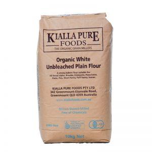 Kialla Organic Bakers flour 10kg
