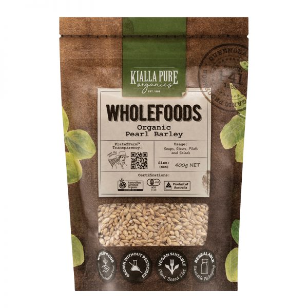 Kialla Pure Organic Pearl Barley