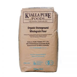 Kialla Organic Stoneground Wholegrain Flour