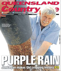 Geoff on cover of Country Life