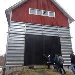 The oats drying shed at Ann-Britt's farm