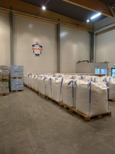 Oats in bulk bags bound for Australia