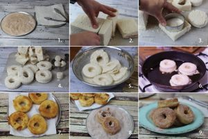 Step by step guide to making donuts with Kialla pancake mix