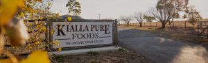 The front entry to Kialla Pure Foods Mill