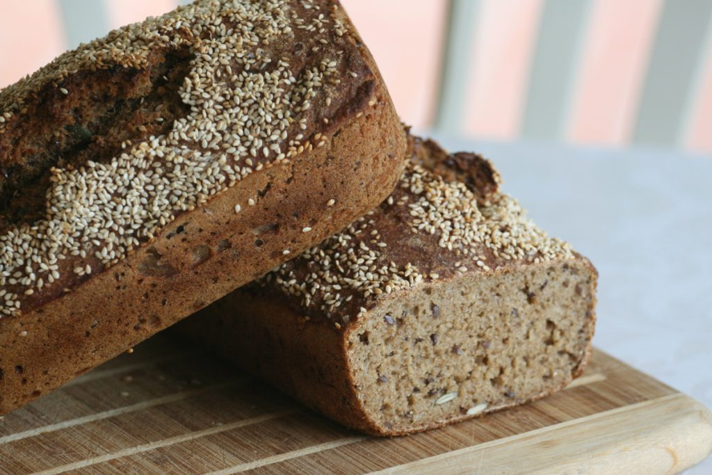 Pernille Berg Larsen's homemade wholegrain rye bread