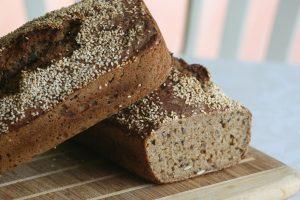 Pernille Berg Larsen's homemade wholegrain rye bread