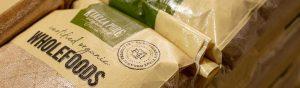 Certified Organic Wholefoods in 20kg bags