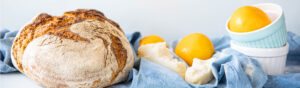 Bread with orange zest