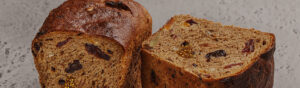 rye fruit bread with walnuts and figs