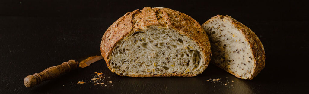 Organic Soy and Linseed Sourdough