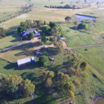 View of Derek and Fiona's farm at Guyra
