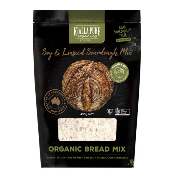 Organic Soy andLinseed Bread Mix