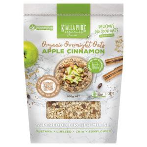 Apple and Cinnamon Overnight Oats