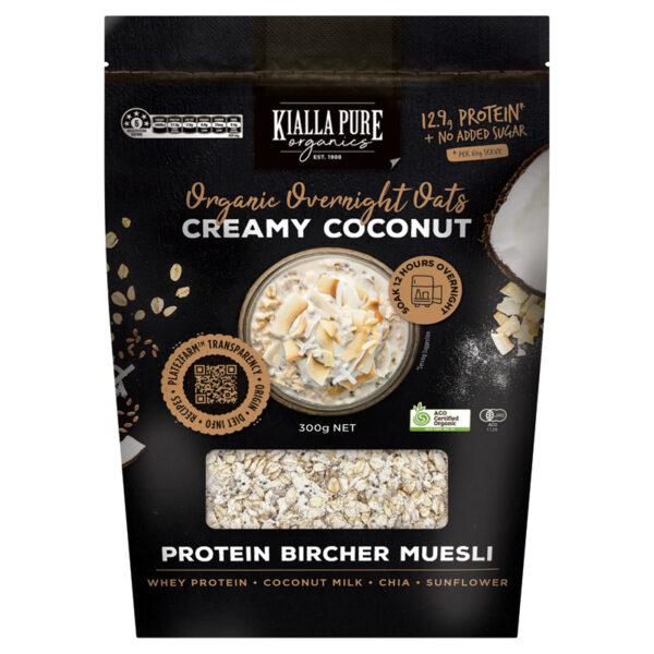 Creamy Coconut Overnight Oats