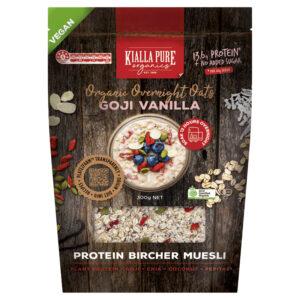 Goji and Vanilla Vegan Overnight Oats