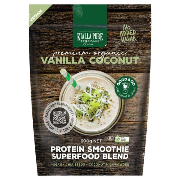 Organic Vanilla Coconut Vegan Smoothie