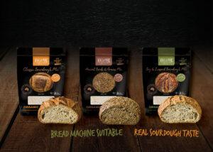 Kialla's Artisan Sourdough-Style Bread mixes