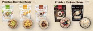 The range of overnight oats