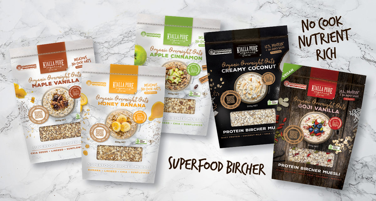 Overnight Oats come in 5 flavours