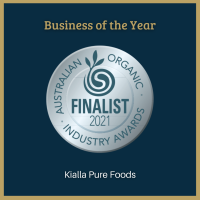 Australian Organic Industry Awards finalist for Business of the Year 2021