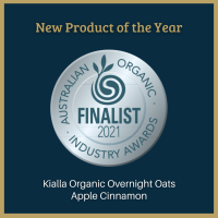 Australian Organic Industry Awards finalist for Product of the Year 2021